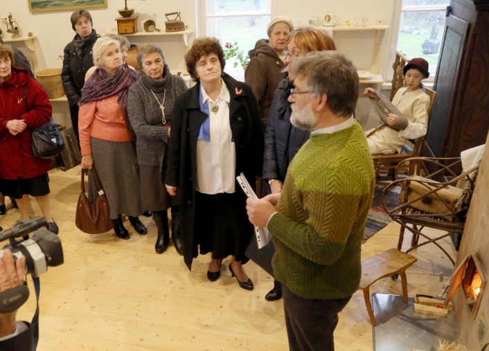 2014: Līvu etnogrāfiskās istabas iekārtošana Lībiešu tautas namā