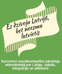 Es dzīvoju Latvijā, bet neesmu latvietis