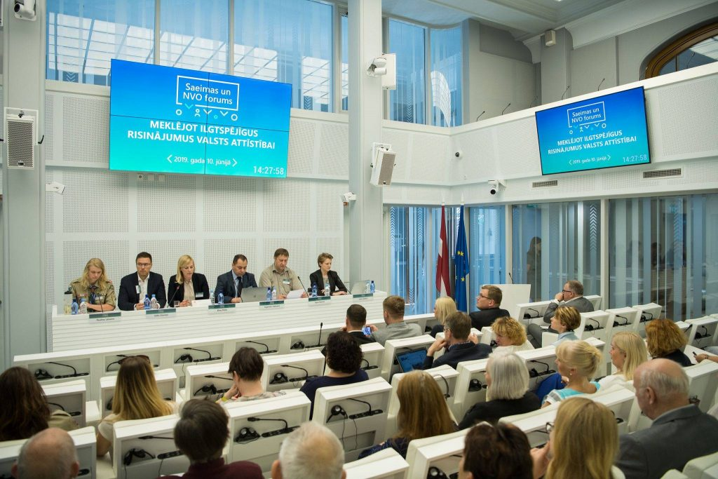 Kurzemes NVO centrs piedalās Saiemas un NVO forumā