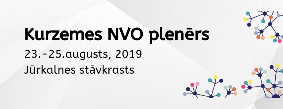 Sākusies pieteikšanās Kurzemes NVO plenēram 2019!