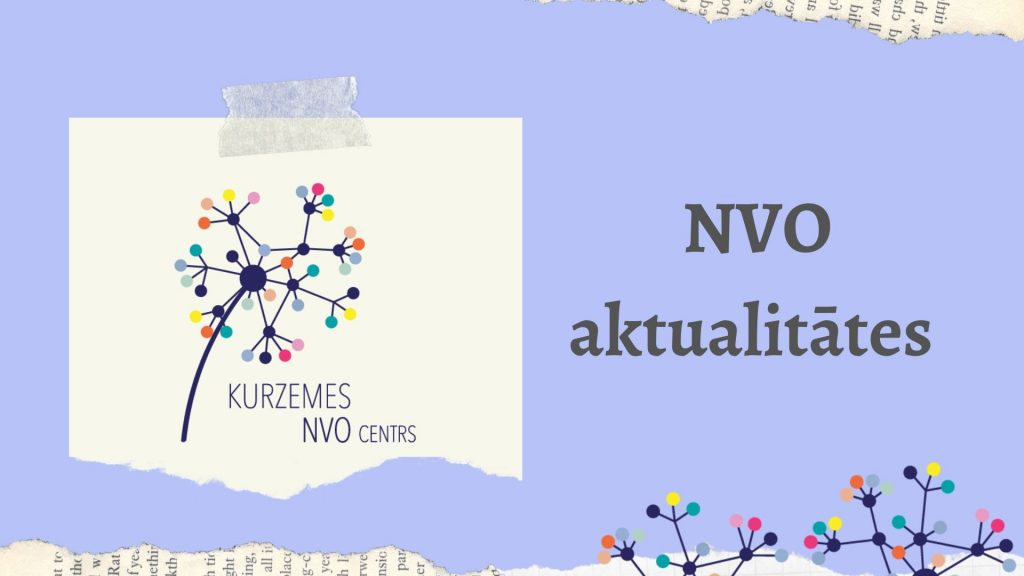 Kurzemes NVO centra ziņu lapa (29. jūnijs)